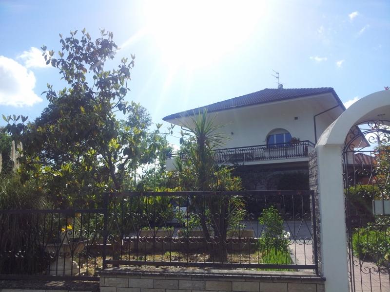 Vista esterna villa