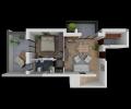 LOA01, Affitto monolocale arredato Isernia centro