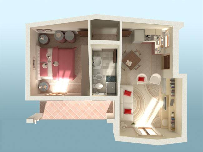 Case Piccole Da Sogno : Affitto monolocale non arredato isernia centro