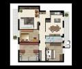 LOA05,  Affitto Trilocale arredato Isernia centro